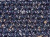 Kids Haakpakket Boston paars-ecru uni-combi donker grijsblauw_