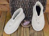 Gents-Ladies Slubbers haakpakket Lente Eco uni ecru 90%katoen/10%polyester_