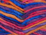 Gents-Ladies Slubbers haakpakket Filz uni blauw-paars-roze-oranje combi middelblauw 100% wol_