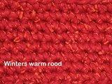 Haakpakket Zermat uni winters warmrood_