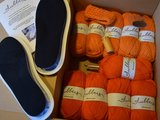 Gents-Ladies Slubbers haakpakket Malmo uni Oranje_