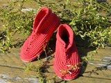 Gents-Ladies Slubbers haakpakket Lente Lacet uni koraalrood 50%katoen/50% acryl_