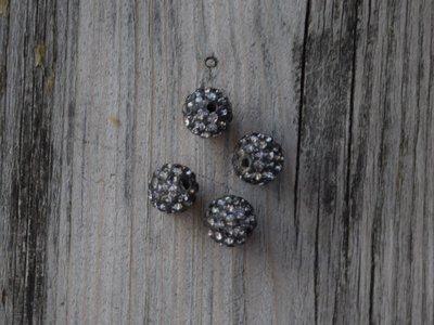 Kraal diamantlook/staal 1,0 cm