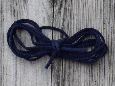 Veter PU marineblauw