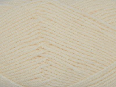 Garen No1 gebroken wit 100% acryl
