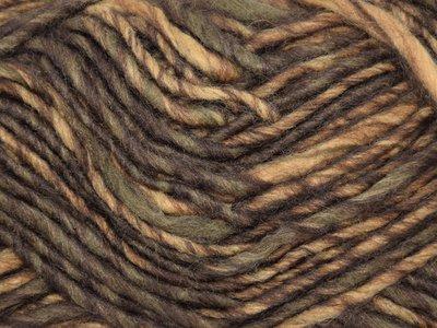 Garen Boston bruin-ecru gemêleerd 65% acryl/35% wol