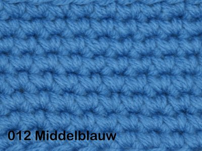 Gents-Ladies Slubbers haakpakket No1 uni middelblauw 100 % acryl