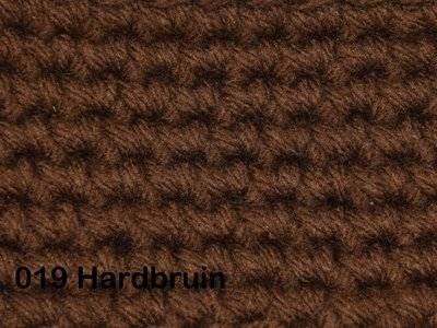 Gents-Ladies Slubbers haakpakket No1 uni hardbruin 100 % acryl