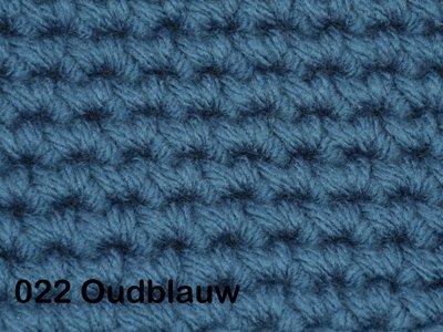 Gents-Ladies Slubbers haakpakket No1 uni oudblauw 100 % acryl