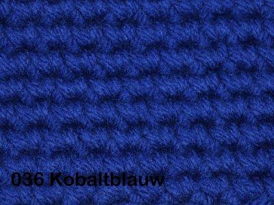 Gents-Ladies Slubbers haakpakket No1 uni kobaltblauw 100 % acryl