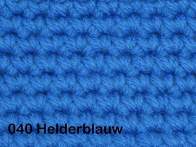 Gents-Ladies Slubbers haakpakket No1 uni helderblauw 100 % acryl