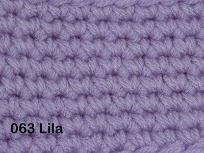 Gents-Ladies Slubbers haakpakket No1 uni lila 100 % acryl