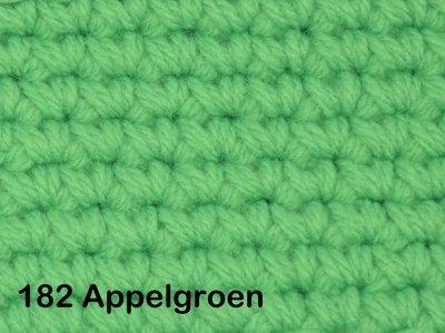 Gents-Ladies Slubbers haakpakket No1 uni appelgroen 100 % acryl