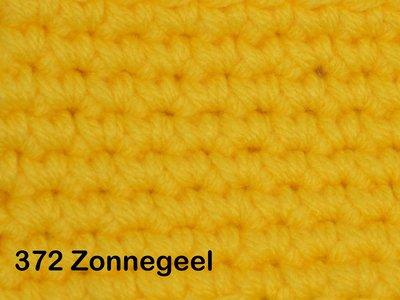 Gents-Ladies Slubbers haakpakket No1 uni zonnegeel 100 % acryl