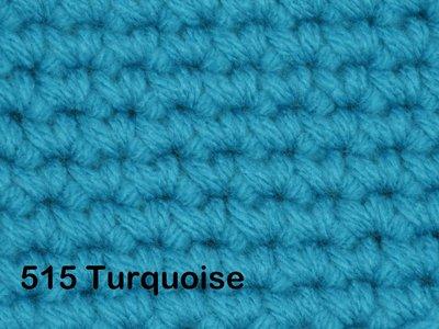 Gents-Ladies Slubbers haakpakket No1 uni donker turquoise 100 % acryl