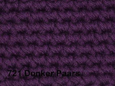 Gents-Ladies Slubbers haakpakket No1 uni donkerpaars 100 % acryl