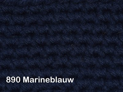 Gents-Ladies Slubbers haakpakket No1 uni marineblauw 100 % acryl