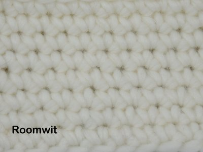 Gents-Ladies Slubbers haakpakket Malmo uni Roomwit 70%acryl/30% wol