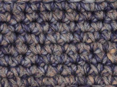 Gents-Ladies Slubbers haakpakket Boston paars-ecru uni-combi bruingrijs 65% acryl/35% wol