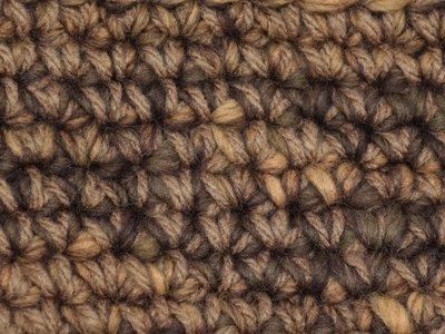 Gents-Ladies Slubbers haakpakket Boston bruin-ecru uni-combi middelbruin 65% acryl/35% wol