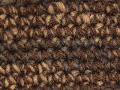 Gents-Ladies Slubbers haakpakket Boston bruin-ecru uni-combi donkerbruin 65% acryl/35% wol