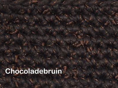 Gents-Ladies Slubbers haakpakket Zermat uni chocoladebruin 55% acryl/25%wol/20%polyester