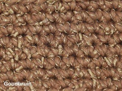 Gents-Ladies Slubbers haakpakket Zermat uni goudbruin 55% acryl/25%wol/20%polyester