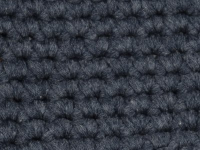 Gents-Ladies Slubbers haakpakket Lente Lacet uni donker grijsblauw 50%katoen/50% acryl