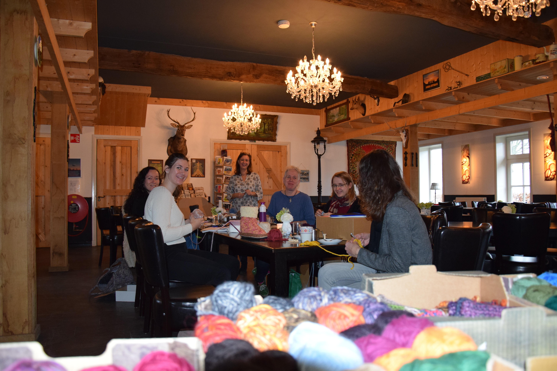 08-02-2020 13.00-15.30 uur bij Brei&Allerlei in Heythuisen opstartworkshop WinterSlubbers