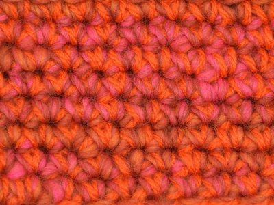 Kids Haakpakket Boston oranje-roze uni-combi oranje