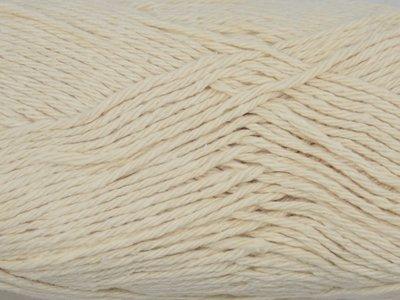 Gents-Ladies Slubbers haakpakket Lente Eco uni ecru 90%katoen/10%polyester