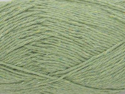 Gents-Ladies Slubbers haakpakket Lente Eco uni kakigroen 90%katoen/10%polyester