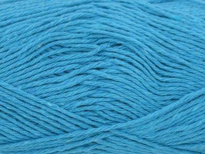 Garen Eco katoen turquoise 90% katoen/10% polyester